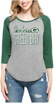 '47 Women's Green Bay Packers Club Block Raglan T-Shirt