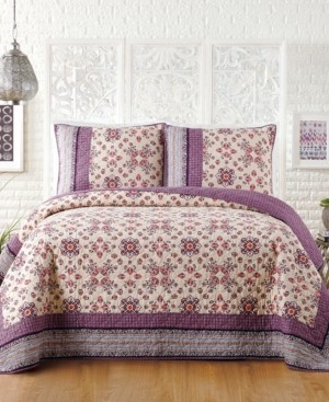 Jessica Simpson Lola Cotton King Quilt