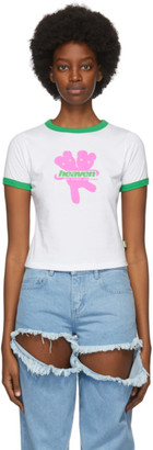 Marc Jacobs White Heaven By Logo Baby T-Shirt