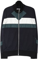 Tim Coppens Navy Panelled Jersey Jacket