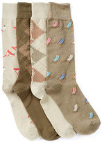 Tommy Bahama Casual Crew Socks - Pack of 4