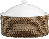 Crate & Barrel Round Baker with Basket