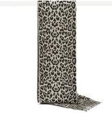 Reiss Hazel Leopard-Print Scarf