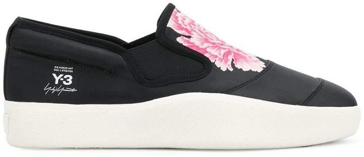 Y-3 Sport Y3 Sport Y-3 x James Harden floral print slip-on sneakers