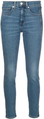 Veronica Beard Mid Rise Skinny Jeans