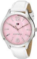 Tommy Hilfiger Women's 1781547 Casual Sport Analog Display Quartz White Watch