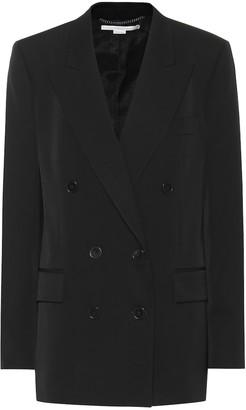 Stella McCartney Double-breasted wool blazer