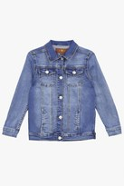 7 For All Mankind Girls 4-6x Stretch Denim Jacket In Nirvana