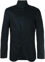 John Varvatos classic blazer - men - Cotton/Linen/Flax/Spandex/Elastane - 48