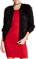 Love Moschino Faux Fur Cardigan