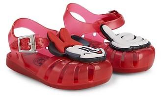 Mini Melissa Baby Girl's Little Girl's Mini Aranha + Mickey Minnie Mouse Sandals