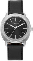 Chaps Men's Calhoun Leather Watch