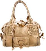 Chloé Metallic Paddington Bag