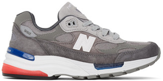 New Balance Grey Made in US 992 Sneakers