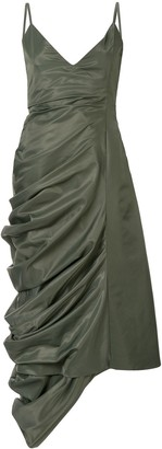 Y/Project asymmetric drape dress