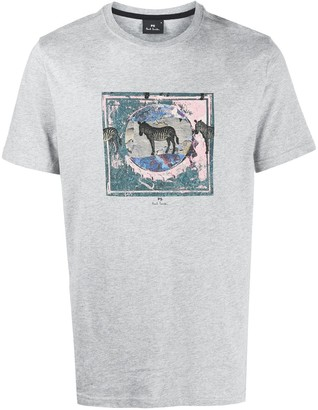Paul Smith Graphic-Print T-Shirt