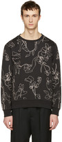 Paul Smith Black Floral Pullover