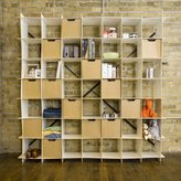 Sprout Modern 49 Cube Wave Storage Bookcase