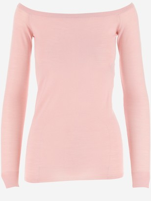 Stella McCartney Boat-Neck Knit Top