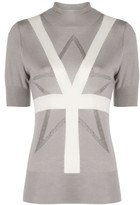 Lorena Antoniazzi short-sleeve knit top