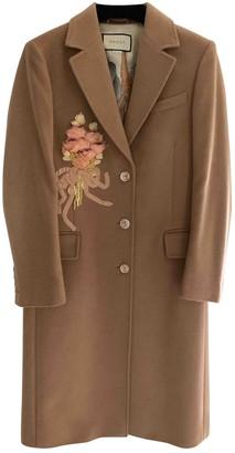 Gucci Camel Coat for Women