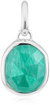 Monica Vinader Women's Siren Medium Bezel Pendant