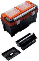 Toolbox FIREBIRD 25 inch with deep tote tray and removable organisers, 3 sizes