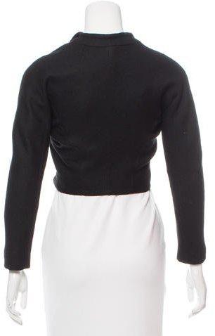 Alaia Wool Cropped Jacket