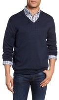 Gant Men's Regular Fit V-Neck Sweater