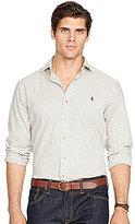 Polo Ralph Lauren Big & Tall Checked Twill Long-Sleeve Woven Shirt