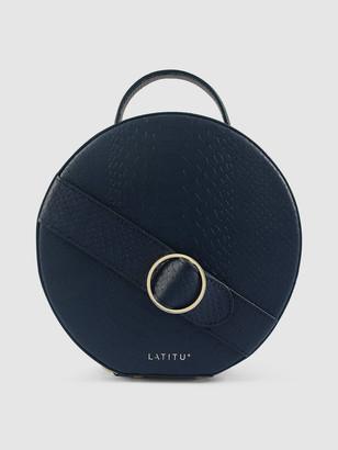 Latitu° Navy Blue Formosa Handbag