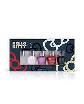 OPI Hello Kitty Infinite Shine Mini 5 Gift Set