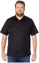 Tommy Bahama Catalina Stretch Twill Shirt (Black) Men's Clothing