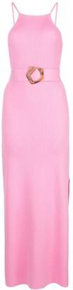 Nicholas Ribbed Knit Dress