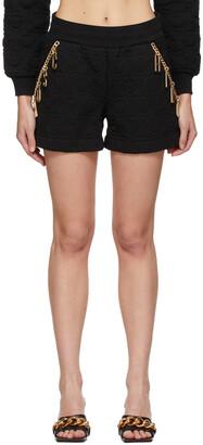 Moschino Black Smiley Edition Charm Shorts