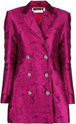 Rotate by Birger Christensen Flared Blazer Dress
