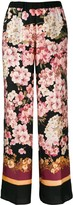 Twin-Set Twin Set floral print trousers