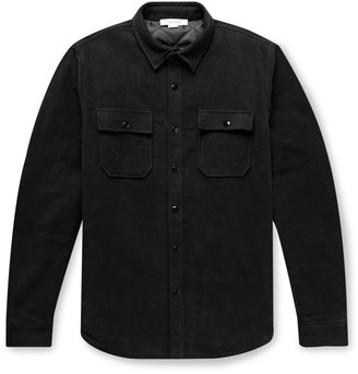 Frame Cotton-Moleskin Shirt Jacket