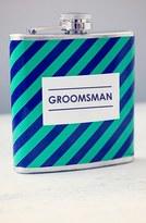 Cathy's Concepts 'Groomsman' Stripe Flask