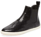 Marc by Marc Jacobs Gracie Embossed Leather Chelsea Sneaker
