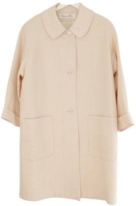 Christian Dior \N White Wool Coats