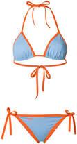 Fendi contrast bikini set