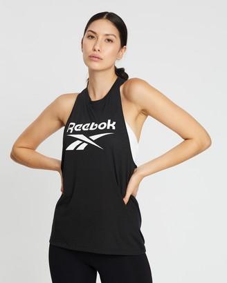 Reebok Performance Workout Ready Supremium Big Logo Tank Top
