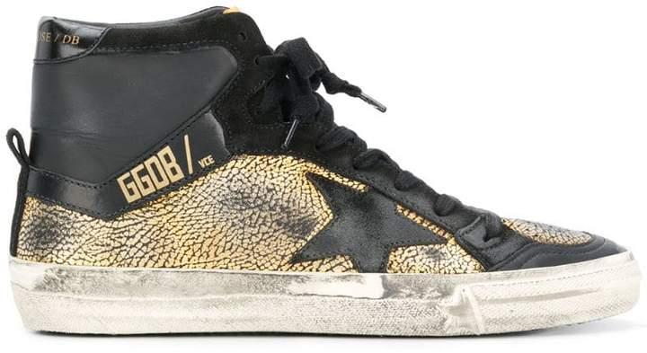 Golden Goose Superstar hi-top sneakers