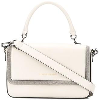 Brunello Cucinelli Bead-Trim Shoulder Bag