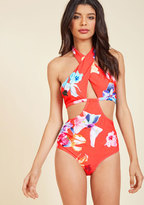 Transformative Tourism One-Piece Swimsuit in S
