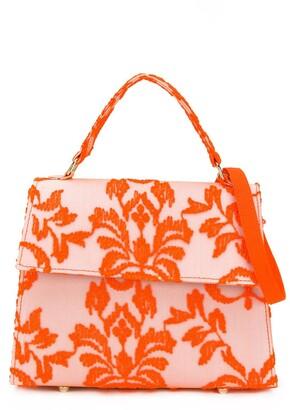 Mi Mi Sol Floral Embroidered Tote Bag