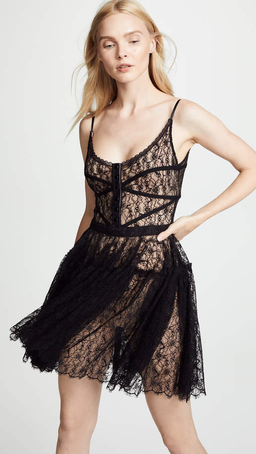 Alexander Wang Fitted Bodice Dress