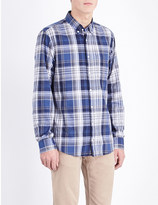 Tommy Hilfiger Damian regular-fit check-print cotton shirt