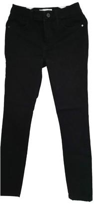 MANGO Black Cotton - elasthane Jeans for Women